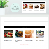 genesis project gallery category index plugin