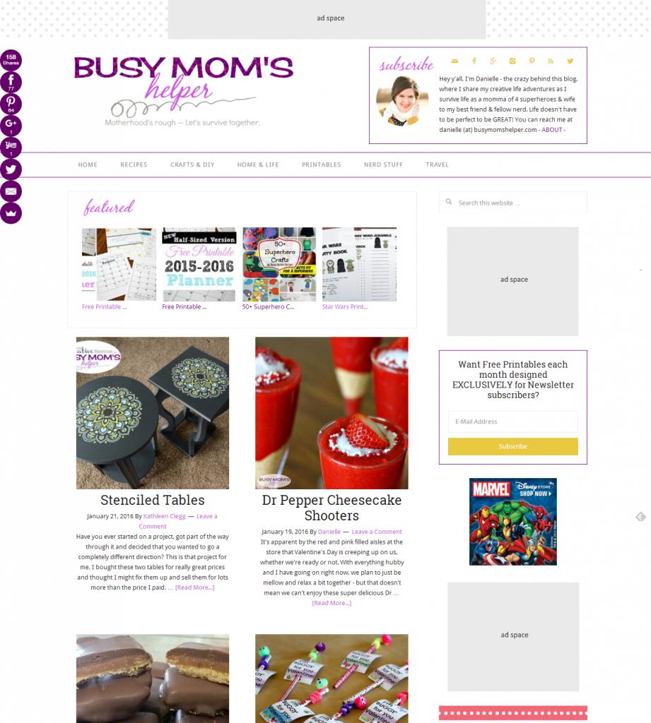 busy moms helper