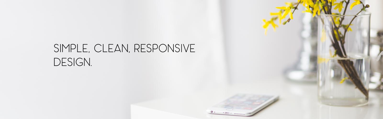 simple responsive design